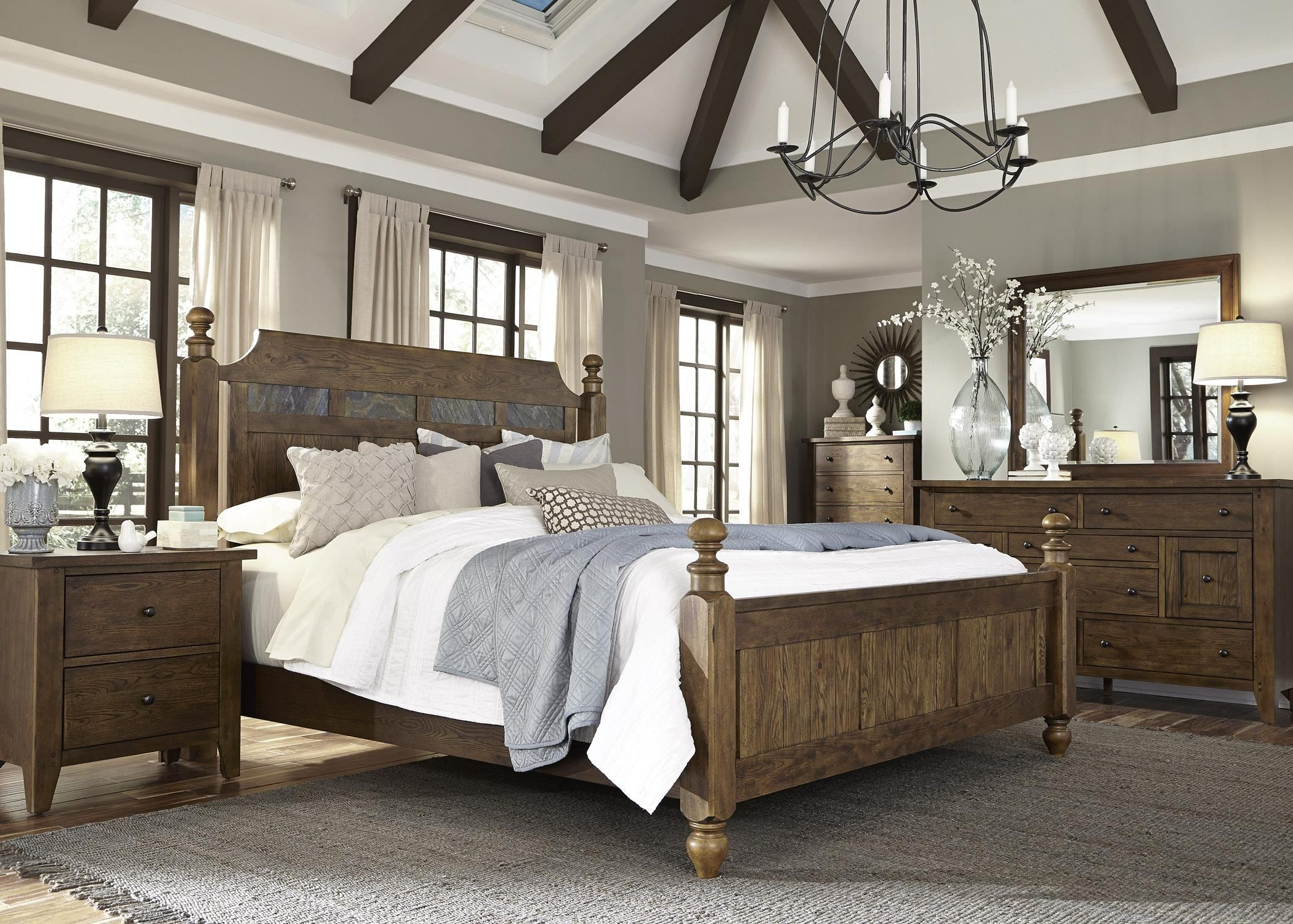 hearthstone king bedroom group by liberty furniture ideas for home