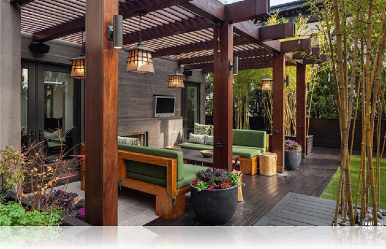 modern timber pergola space | Home » Modern Pergola Design Ideas » Pergola Decorating Ideas . & modern timber pergola space | Home » Modern Pergola Design Ideas ...