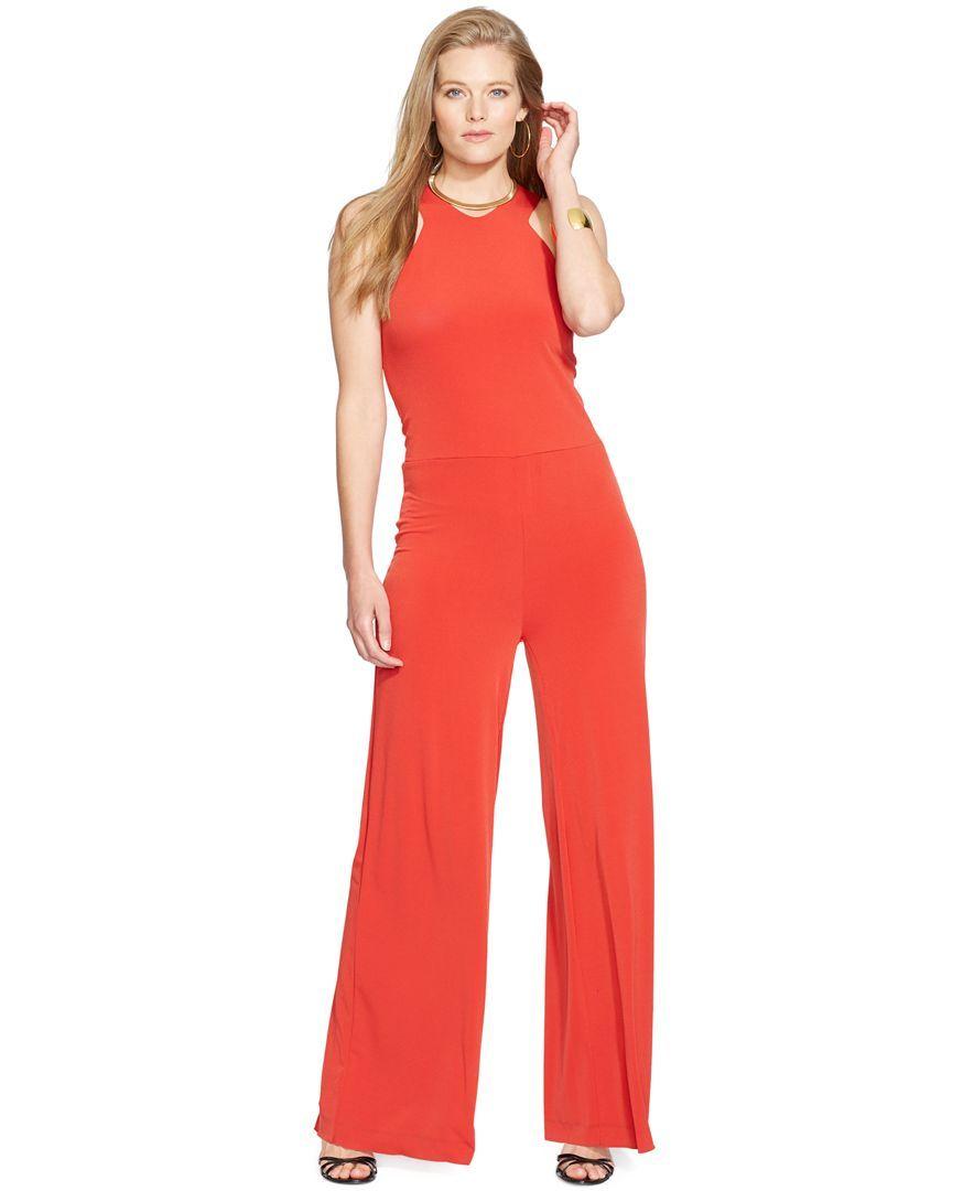 Lauren Ralph Lauren Plus Size Sleeveless Jumpsuit Products