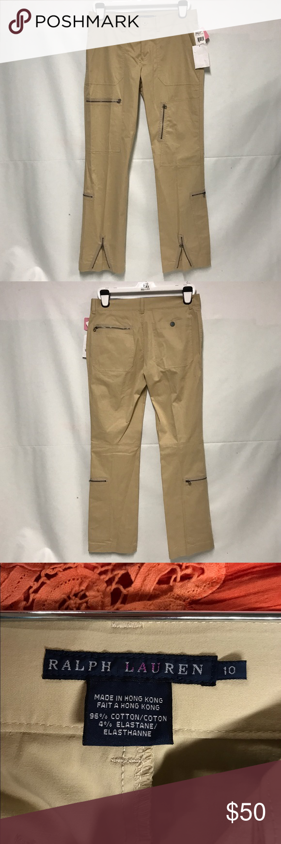 Ralph Lauren Blue label straight leg cargo pant New with tags straight leg cargo pants ralph lauren blue label Pants Trousers