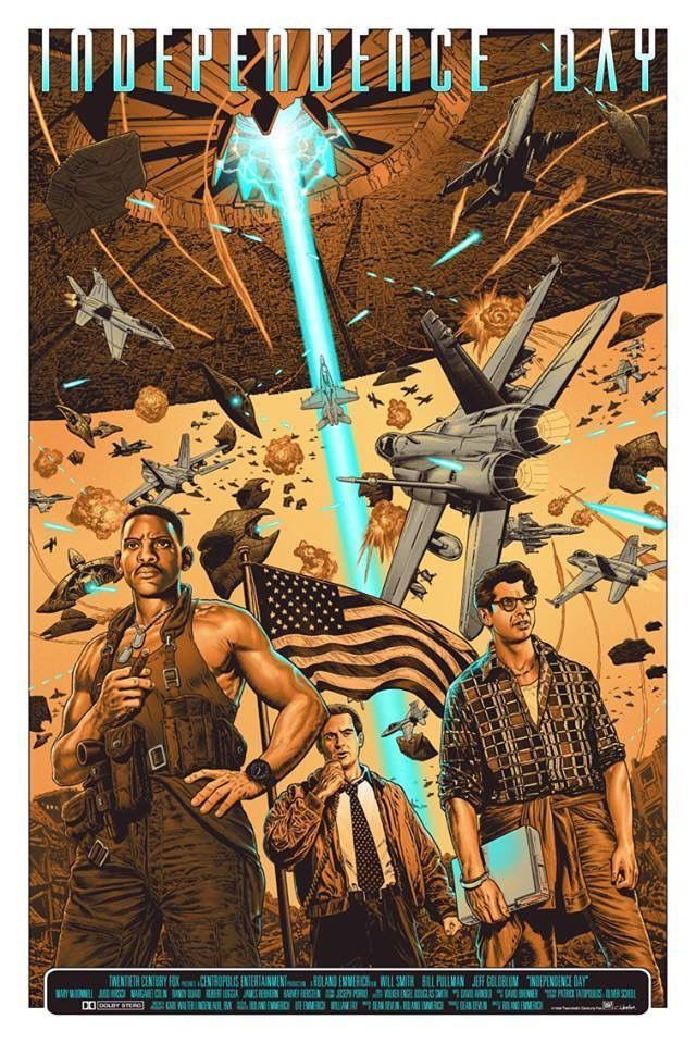 Independence Day Alternative Movie Posters Movie Posters Movie Art