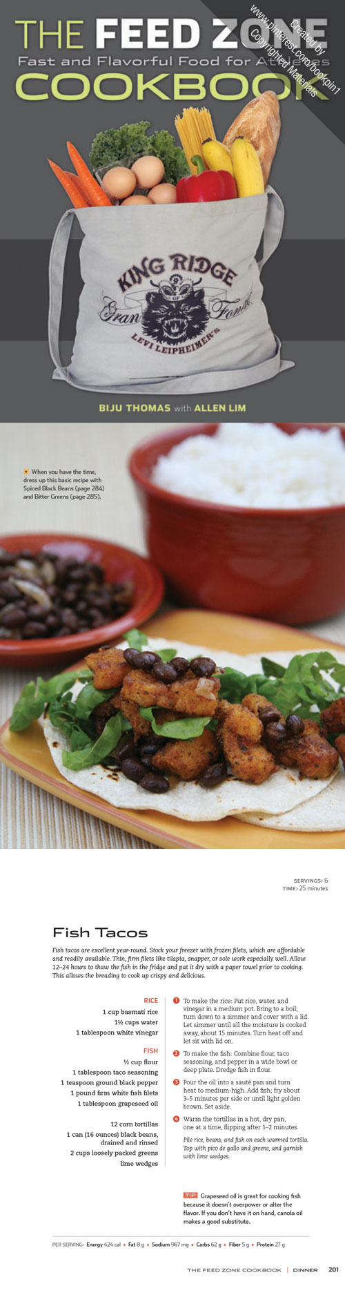 Feed zone cookbook fish zone recipes and recipe design check out this recipe for fish tacos from the feed zone cookbook forumfinder Choice Image