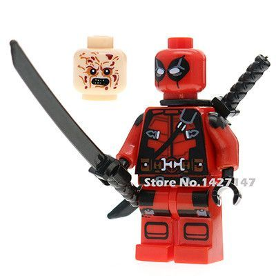 DC Marvel superheros joker harley quinn deadpool bataman minifigures building blocks best self-locking toys for children lepin