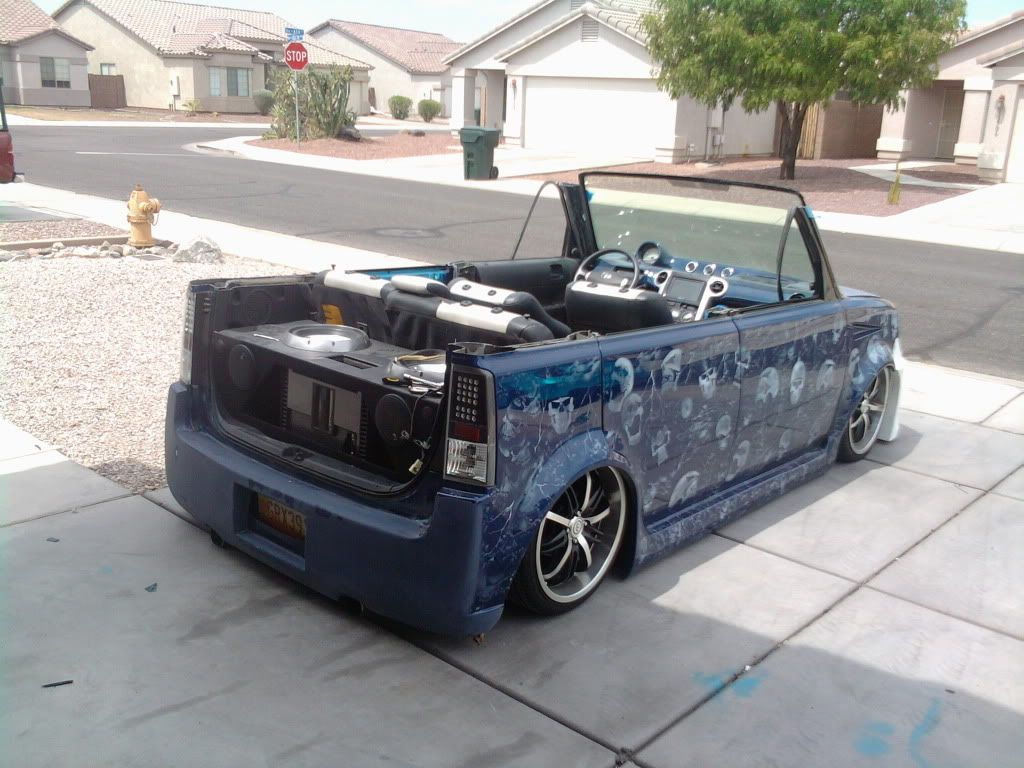 Custom Scion Xb Chopped Removable Top W Rwd V8 Scions