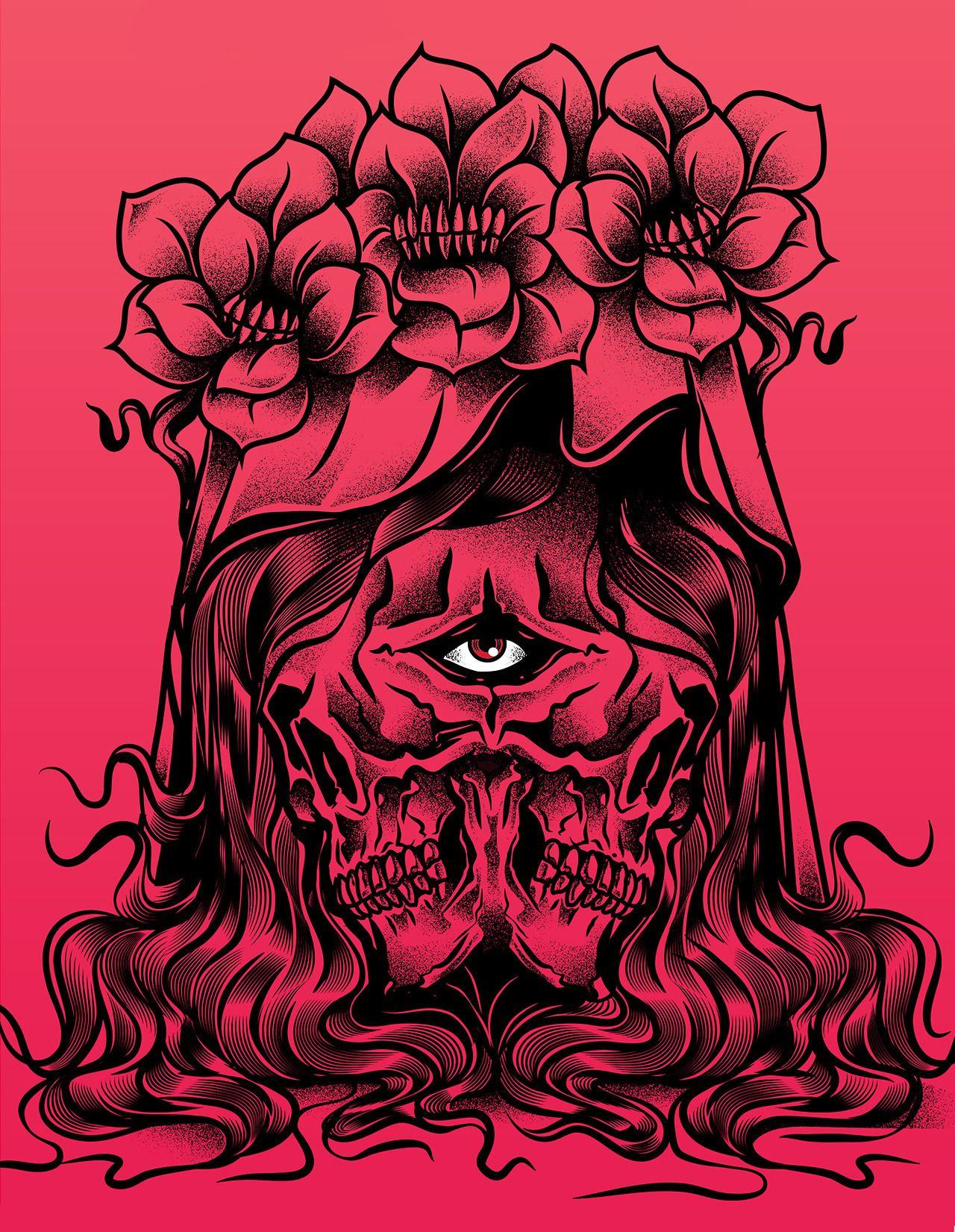 Manuel Cetina Inside Your Face Brand Identity Design Poster
