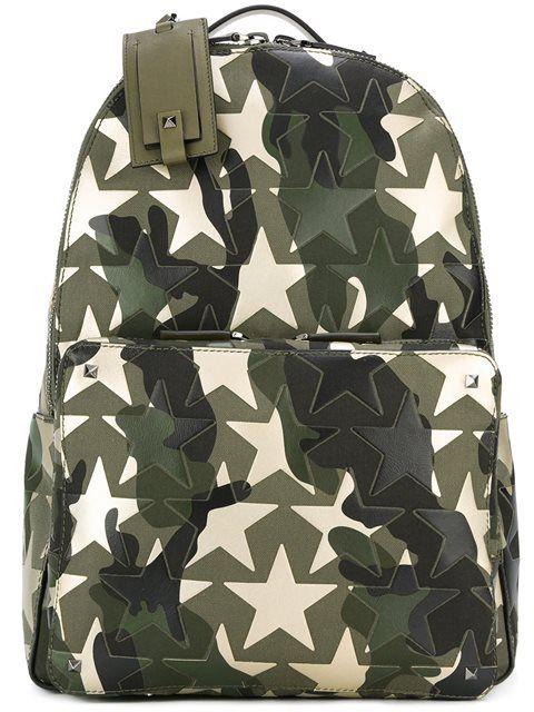 59ec8997454 Valentino 'Rockstud Camustars' backpack Valentino Garavani, Valentino Men,  Tween Backpacks, Crossbody
