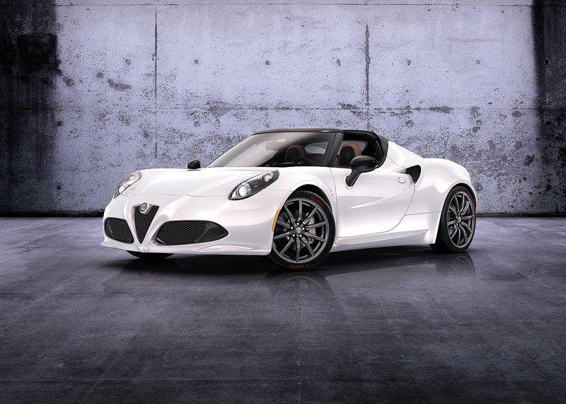 Europejska premiera Alfa Romeo 4C Spider już na początku marca na Salonie w Genewie!