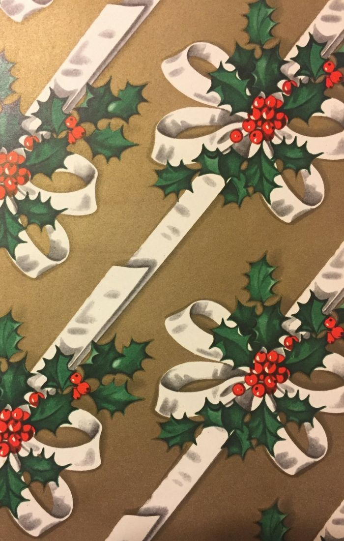 Vintage Christmas Vintage Christmas Wrapping Paper Vintage