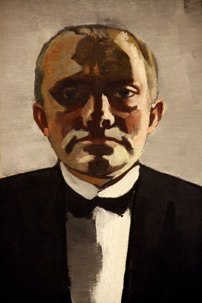 max beckmann self portrait The german painter max beckmann was born in leipzig on february 12, 1884 against strong opposition from his family, he pursues a career as an artist.