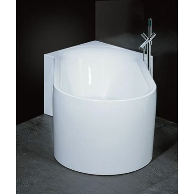 54 X 29 Freestanding Soaking Bathtub In 2020 Kleine Badezimmer