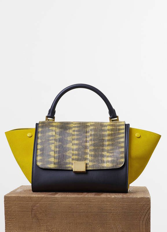 c4f4a2cc537 SMALL TRAPEZE BAG IN SUN TIGER SNAKE AND CALFSKIN 27 X 22 X 13 CM (11 X 9 X  5 IN) TIGER SNAKE, CALFSKIN TRIMMINGS AND LAMBSKIN LINING 174684YTG.11SN  PRICE ...