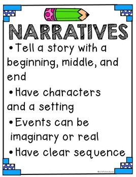 Narrative Freebie | Super Second Grade | Teaching writing