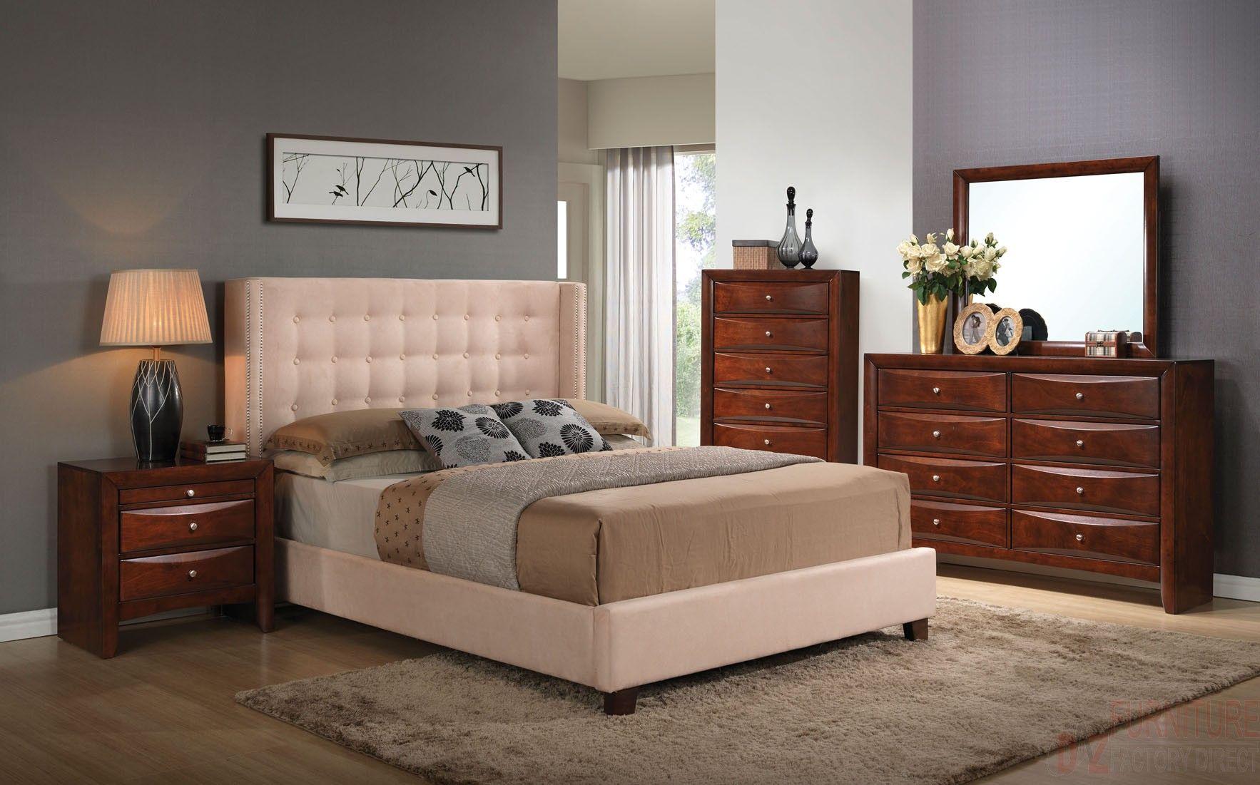 Acme 20757ek Ek Pu Bed Dazillion Bedroom Sets King Bed Sheets