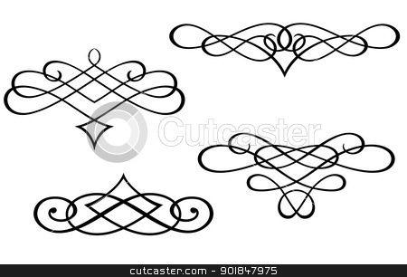 filigree clip art filigree clip art monograms and swirl elements rh pinterest com filigree clipart border free filigree clipart black