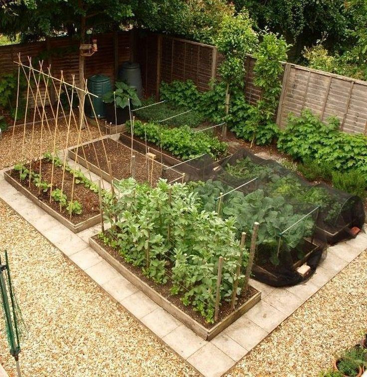 15 Beautiful Homestead Farm Garden Layout und Design-Ideen # Gärten #Garden Design  #design #garden #garden #erhöhtegartenbeete