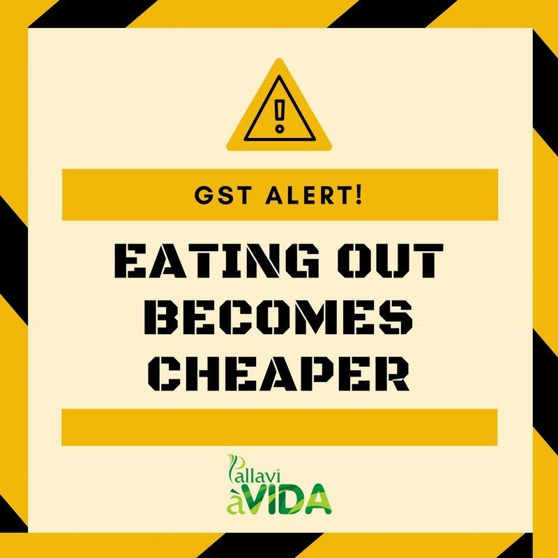 Gst Alert Gst Rates Drop For Restaurants Ac Non Ac More Food
