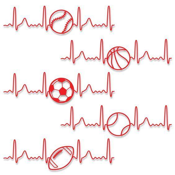 Download Heart Love Sport Svg Cuttable Designs   ideas   Cricut ...