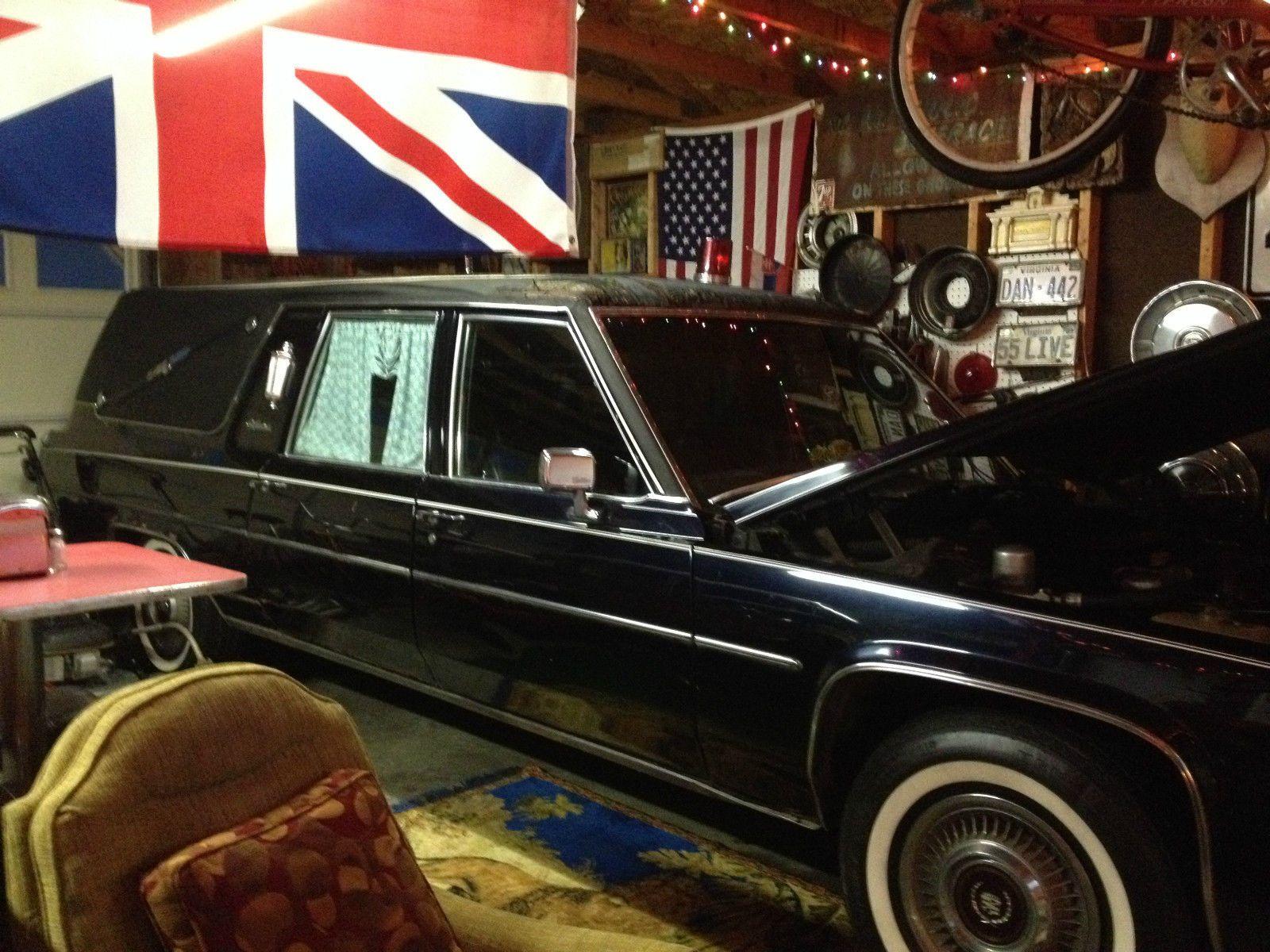 1980 cadillac s s victoria hearse rear loader for sale