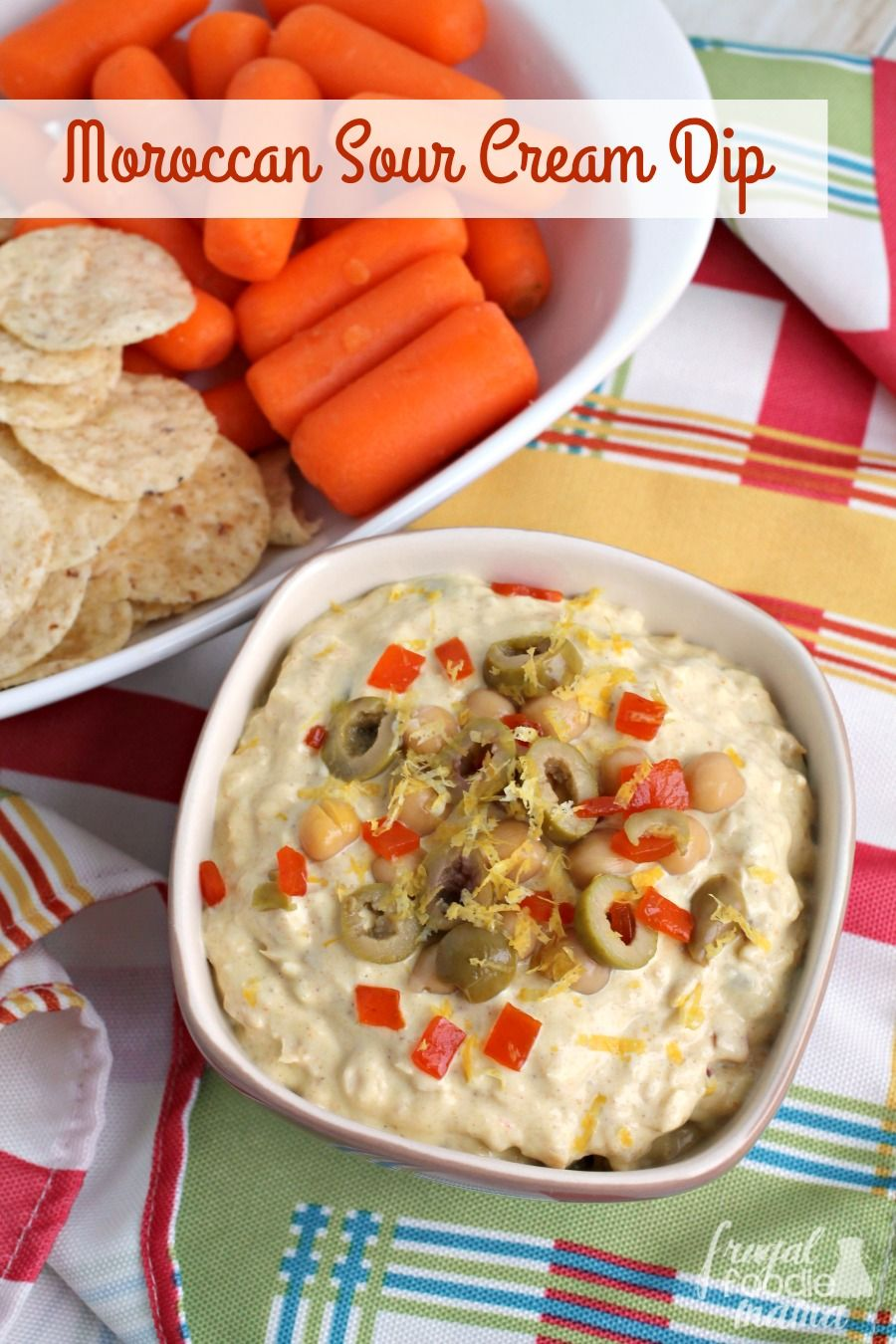 Score a touchdown for the big game with this budget friendly & flavorful Moroccan Sour Cream Dip. #ad #savealotinsiders #SwitchAndSave