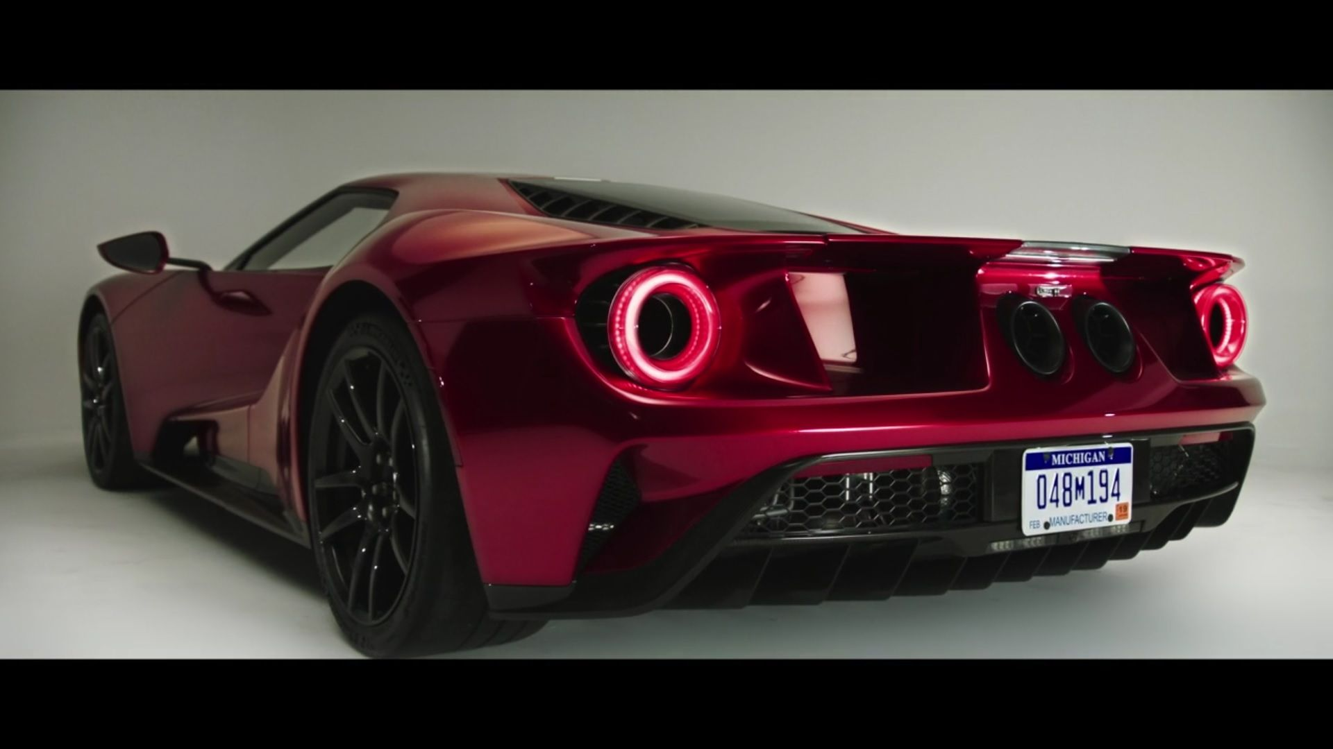 The Grand Tour Ford Gt Rear Angle