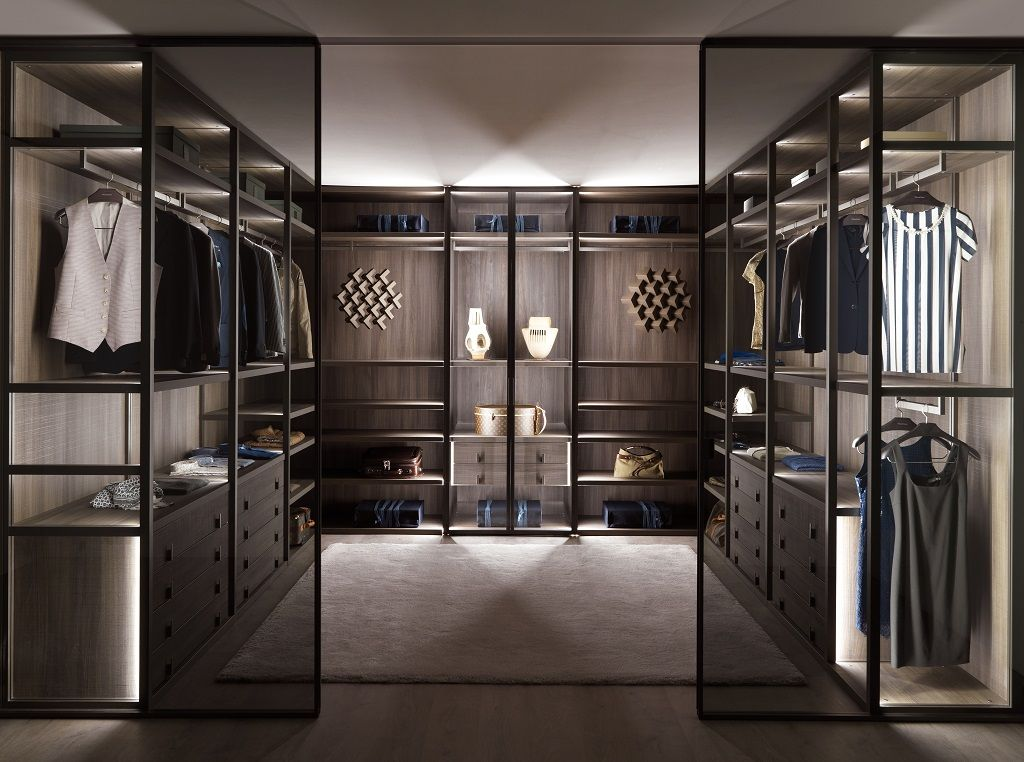 Walk in closet dormitorios principales pinterest for Closet medianos modernos