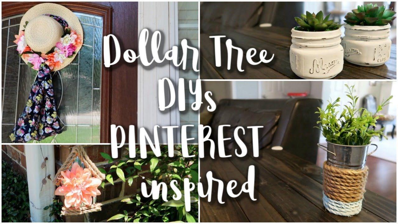Dollar Tree DIY   Pinterest Inspired DIY   Home Decor for Outdoor ...