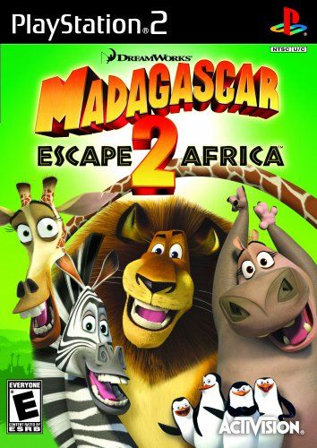 Madagascar 2 Escape 2 Africa Playstation 2 Game Collection