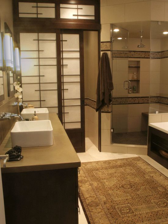 Asian Bathroom Design, Pictures, Remodel, Decor and Ideas - page 5