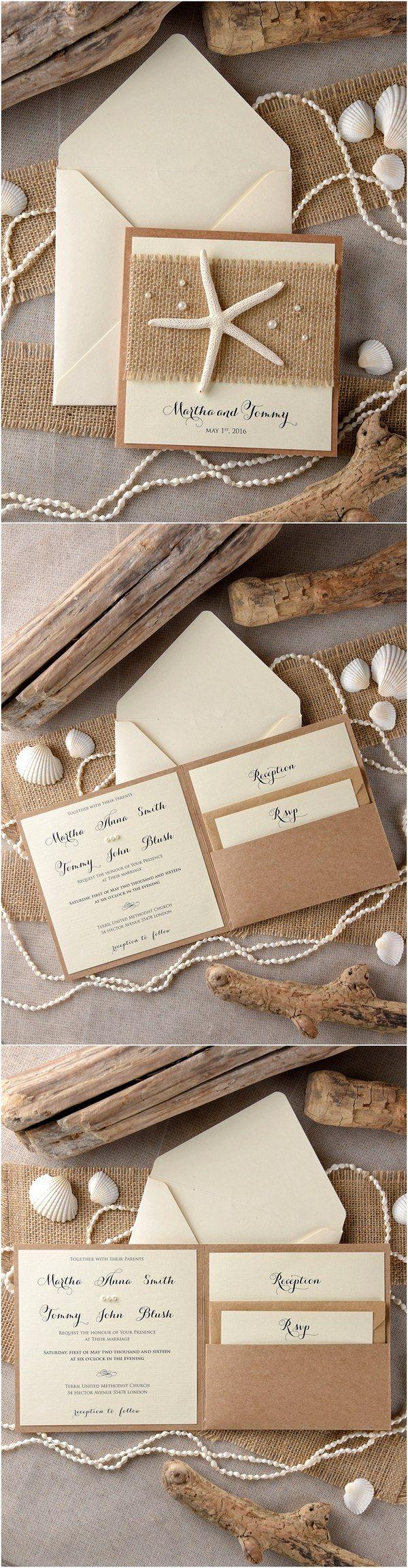 Rustic Country Burlap Wedding Invitations 4lovepolkadots Wedding