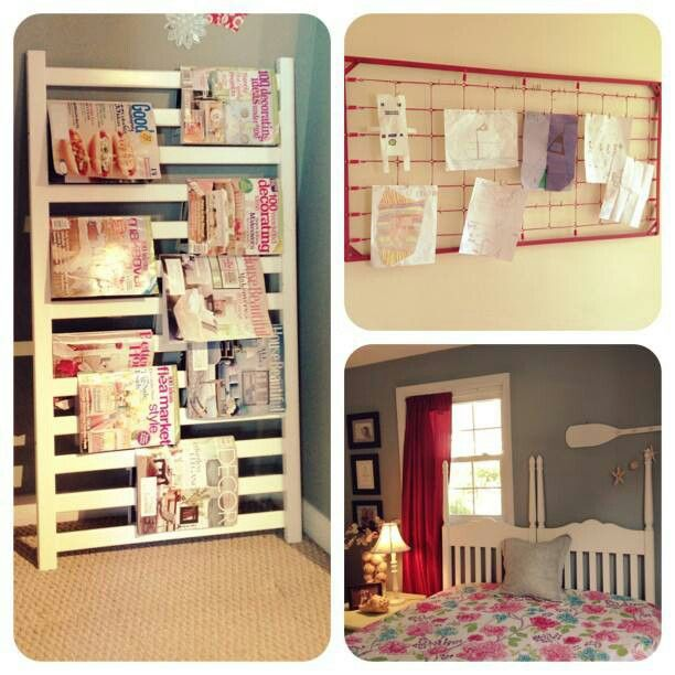 Upcycled Crib Parts Repurposed Furniture Furniture Home Diy