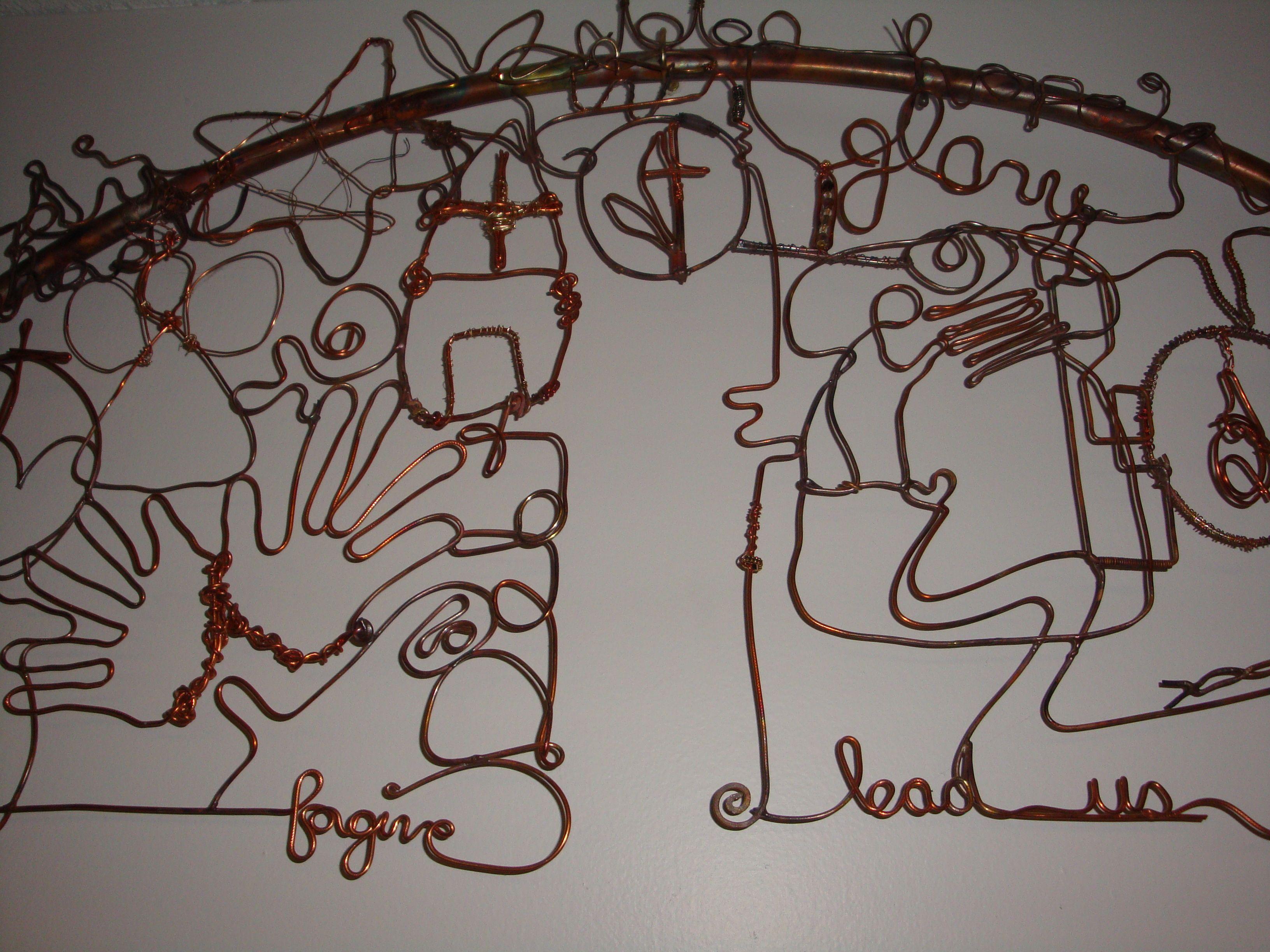 Shaped Wire Art - Dolgular.com
