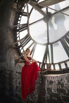 Andrew John | Zoe at the Borox Clock Tower | Baltimore