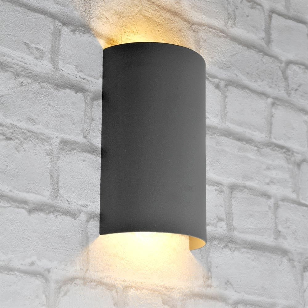 Applique del 5 watts lampe espace extérieur 2 x spots jardin terrasse luminaire