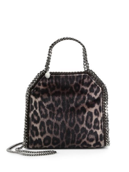 ce8159a593 Stella McCartney - Falabella Mini Baby Bella Leopard-Print Faux Fur  Shoulder Bag