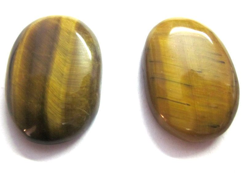 97CTS BEST PRICE NATURAL TIGER'S EYE 25x35mm OVAL CAB LOOSE GEMSTONE JEWELRY #GemsAndJewels