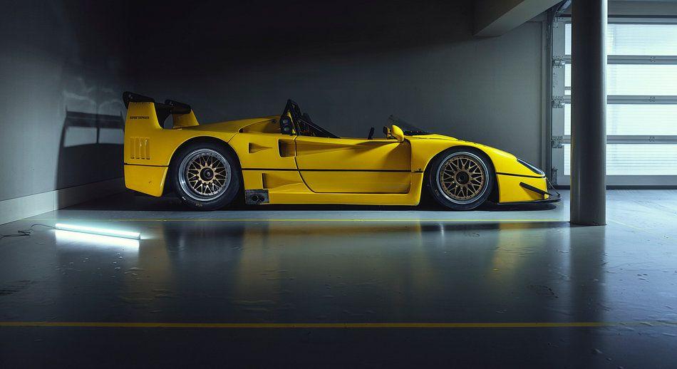 Kunstwerk Ferrari F40 Barchetta Beurlys Van Gijs Spierings