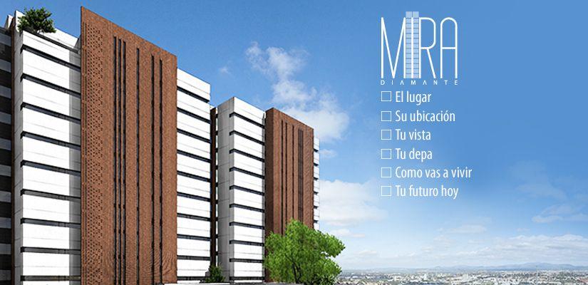Mira Diamante, Su ubicacíon, Tu Vista. #queretaro #lifestyle #departamentos #desarrollos #residenciales #mexico