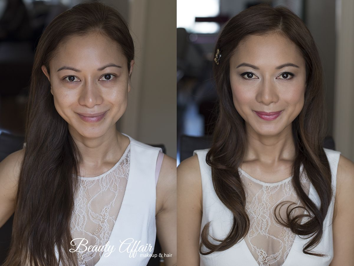 Asian Bridal Makeup And Hairstyle Natural Glowing Dewy Skin