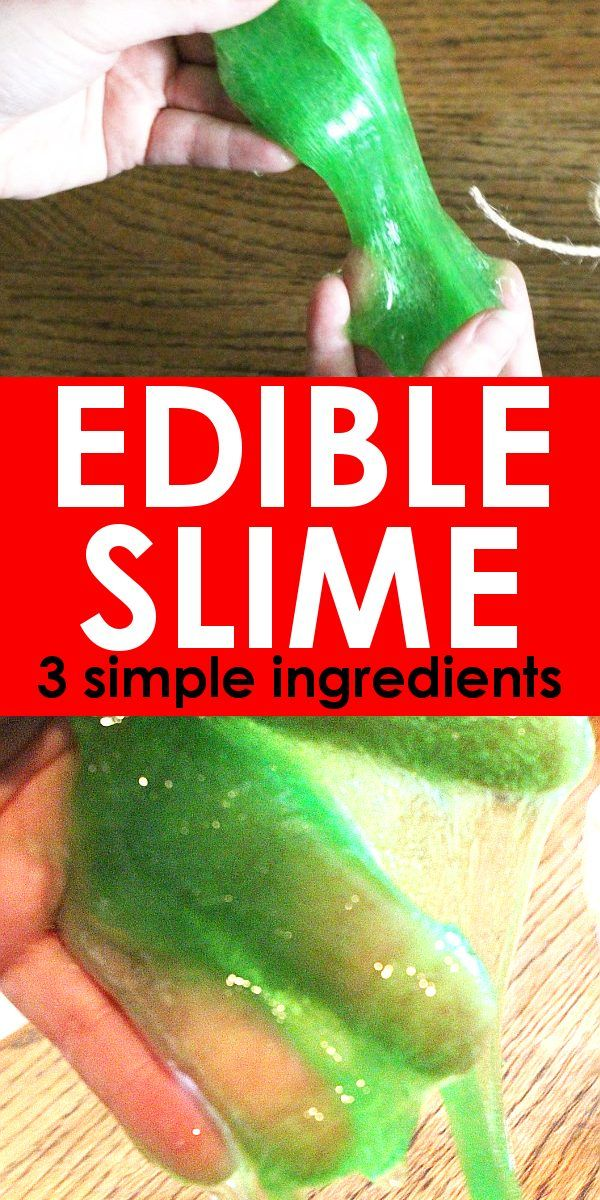 Easy Edible Slime with Gummy Bears - Just 3 Simple Ingredients!