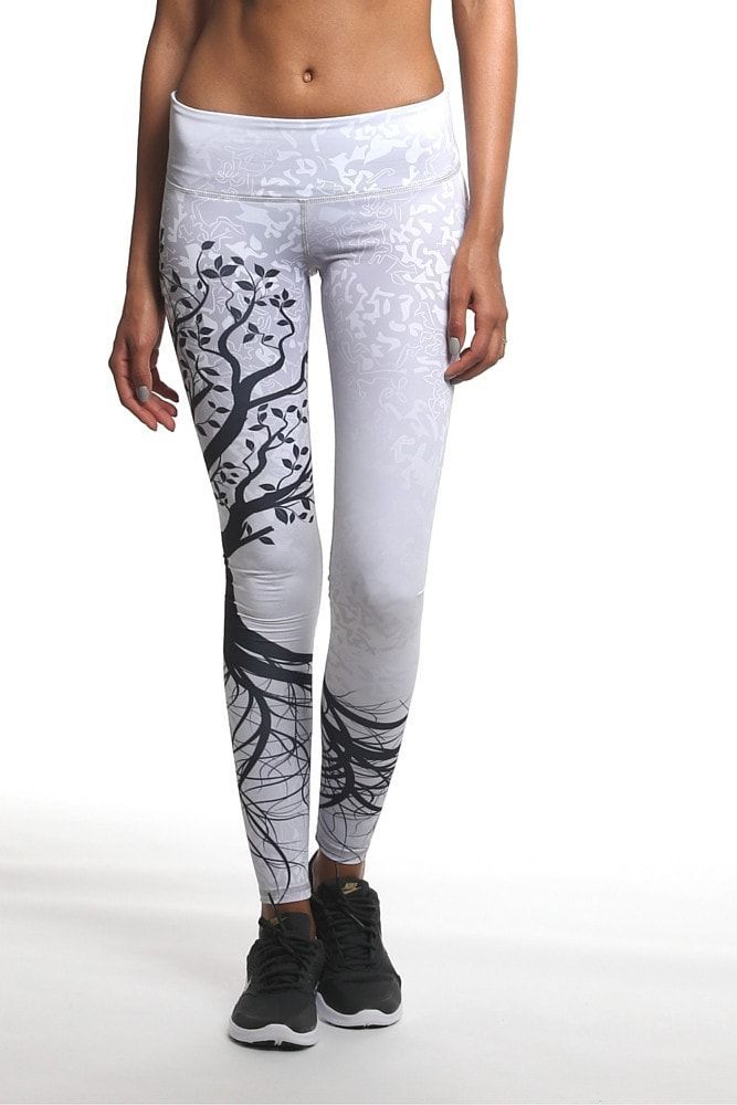 8aa6fe2b2ee The Noli Tree of Life yoga pant is simply a work of art. A silver ...