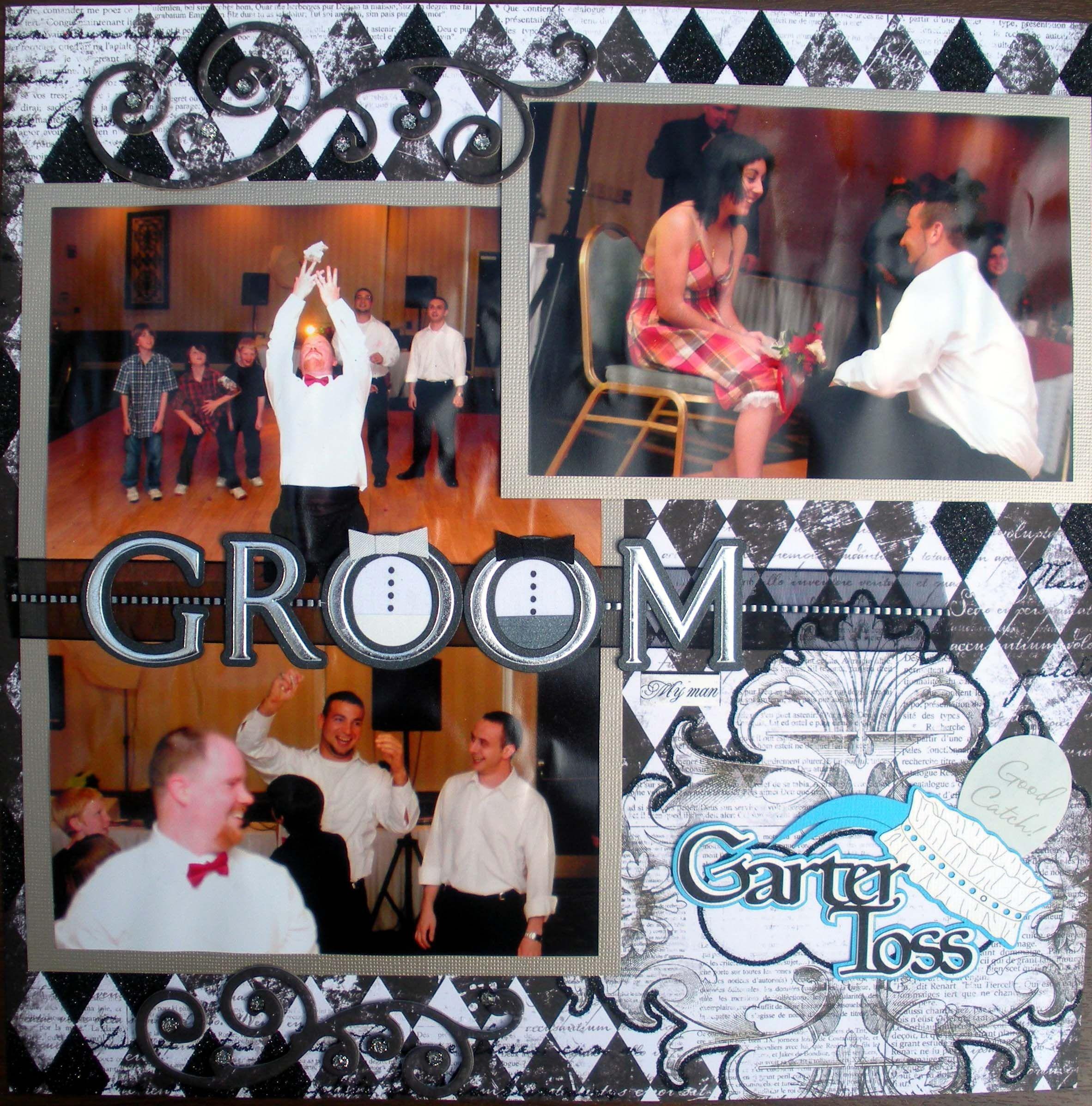 Garter Toss - Scrapbook.com