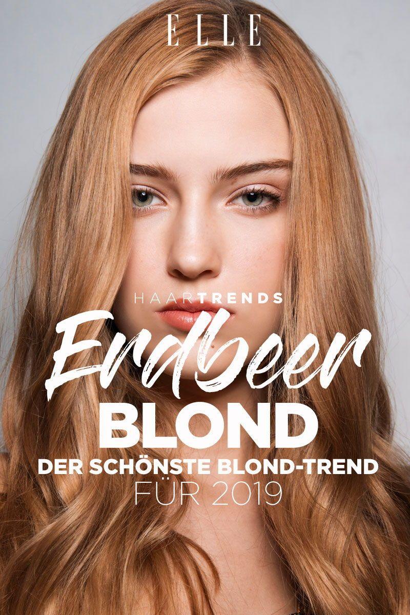 Erdbeerblond Der Schönste Blond Trend Für 2019 Haare Frisuren