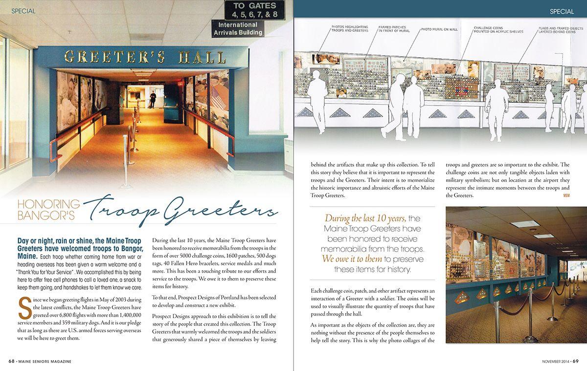 Maine Seniors Magazine on Behance