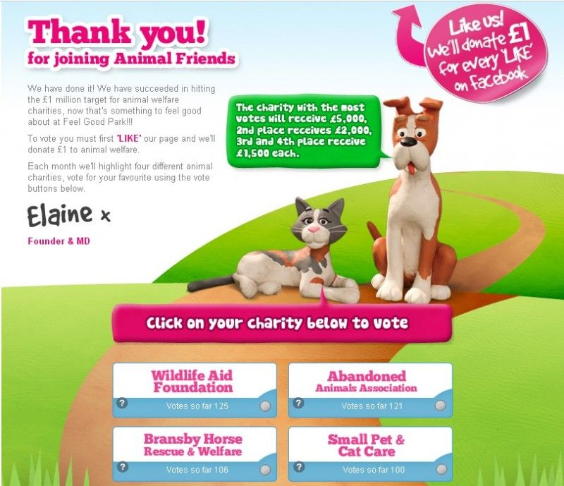 Please Vote For Abandoned Animals Association