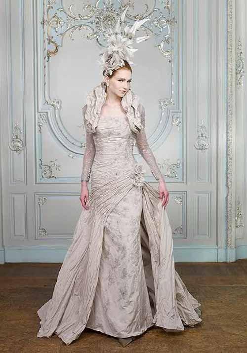 Wedding Fashion » Glamorous & Dramatic Wedding Dresses 2011 by Ian ...