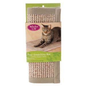 Cat Whisker City Sisal Scratching Mat