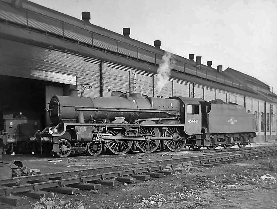 45660 Oxley Wolverhampton September 1963 With Images Steam