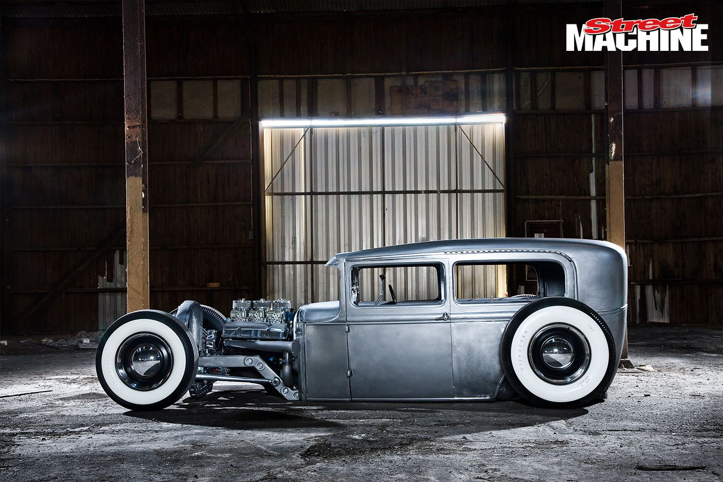 SLAMMED MODEL A FORD TUDOR HOT ROD | Street Machine | SM Hot Rod ...