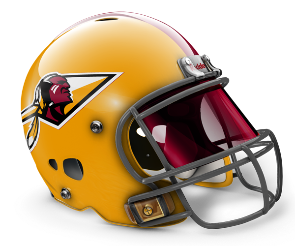 Redskins Logo Design Redskins logo, Football helmets