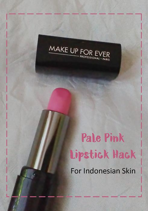 Pale Pink Lipstick Hack Lipstik
